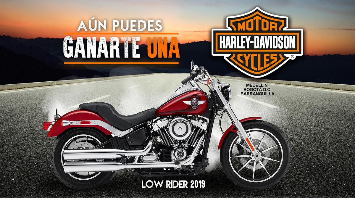 Gánate una Harley-Davidson
